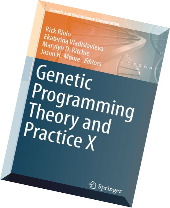 Genetic programming theory and practice x pdf reader