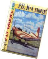 Model Kartonowy - Fly Model 137 - PZL M-4 Tarpan