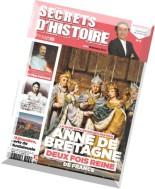Secrets d'Histoire de Detours en France N 3, 2014