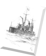 Model Kartonowy - Fly Model 096 - Heavy Cruiser IJN Tone