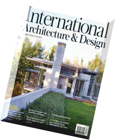 Download international architecture design magazine fall for Designs magazine
