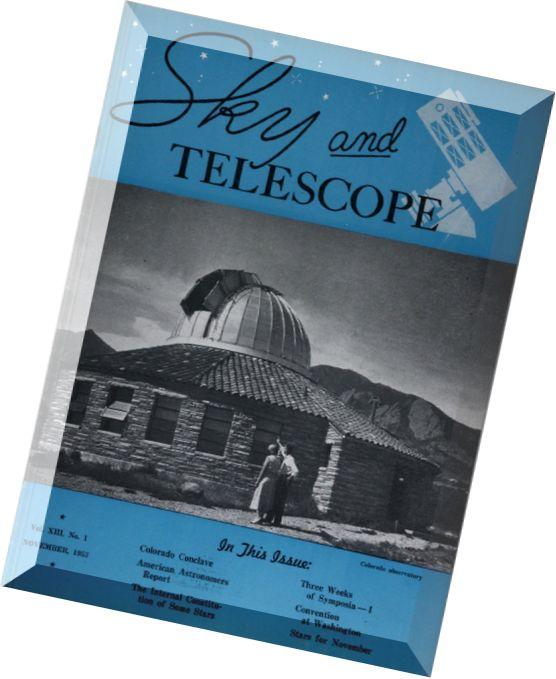 a literary analysis of the magazine skytelescope
