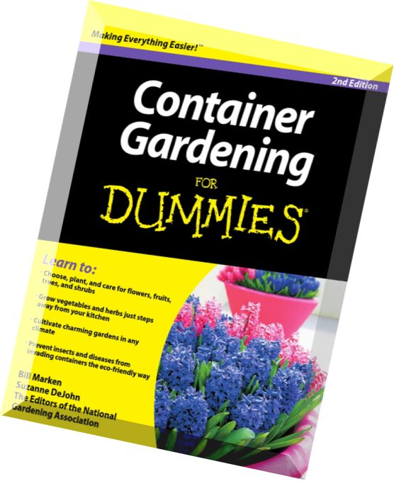 Download Container Gardening For Dummies 2nd Edition