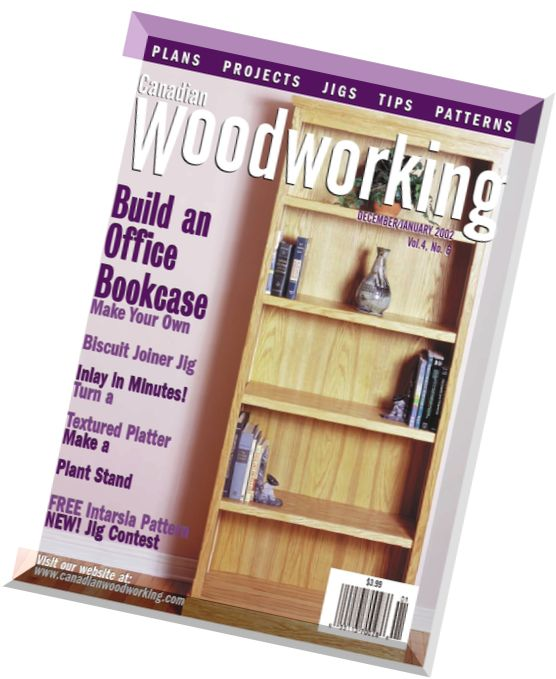 Kk Audio Desk Plans Canadian Woodworking Magazine Download