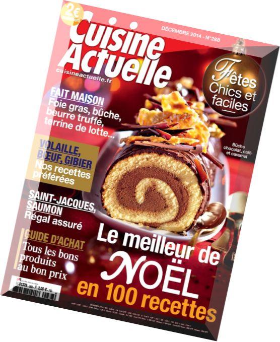 Download cuisine actuelle n 288 special noel decembre for Cuisine actuelle