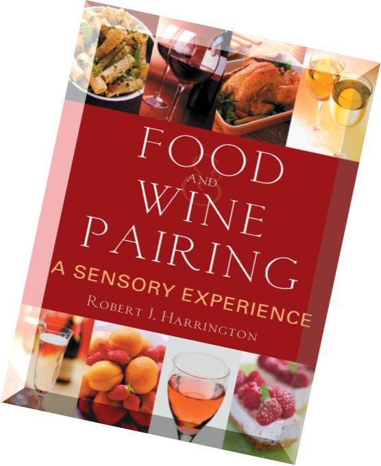 food and wine pairing harrington robert j