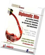 Extraordinary and Plenipotentiary Diplomatist - October 2014