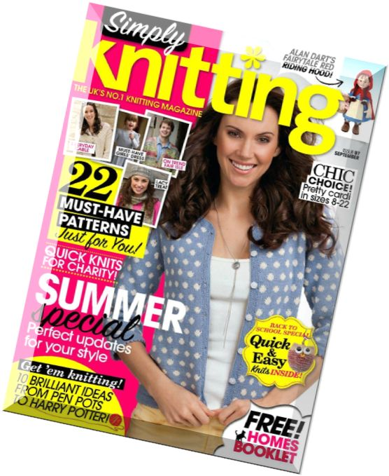 Simply Knitting Magazine : Download simply knitting issue september pdf magazine