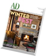 AD Architectural Digest Germany Dezember 2014 - Januar 2015