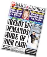 Daily Express - Thursday, 20 November 2014