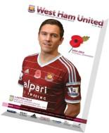 West Ham United vs Aston Villa - 8 November 2014