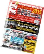 Auto Plus N 1368 - Vendredi 21 Novembre 2014