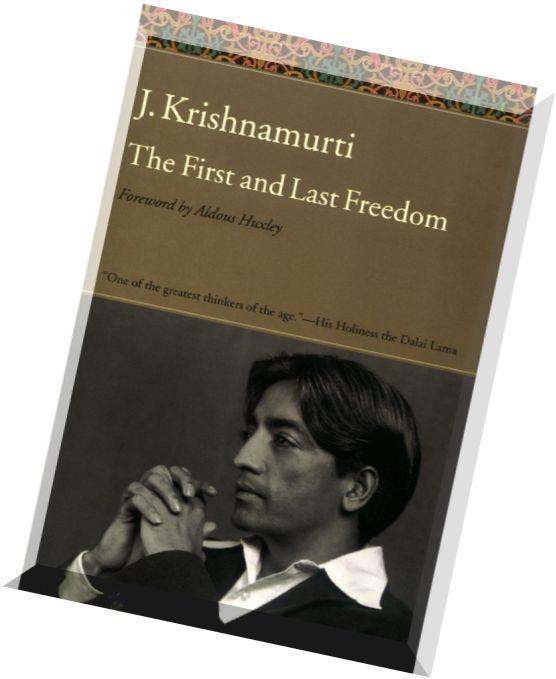 21 thoughts on J. Krishnamurti Books