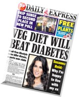 Daily Express - Monday, 24 November 2014