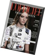 L'Officiel Fashion Week - Printemps-Ete-Spring-Summer 2015