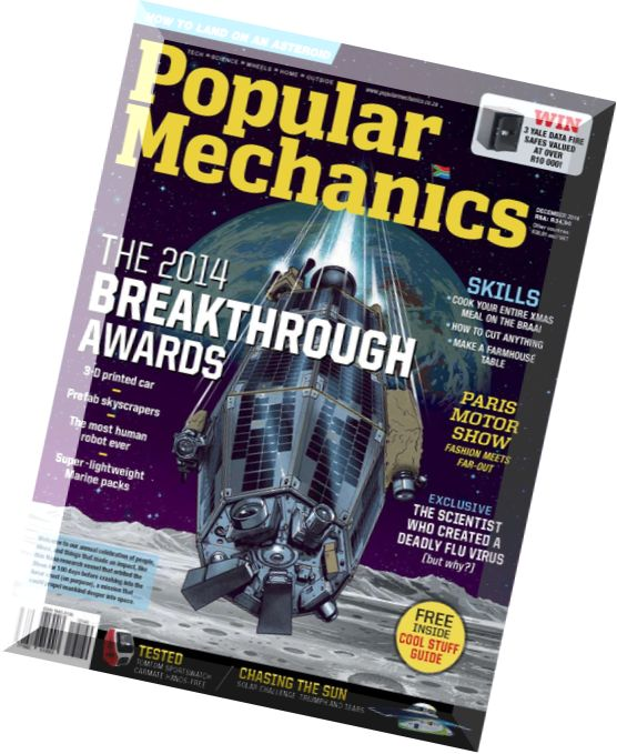 Popular mechanics south africa 2010 12 for Internship for mechanical engineering students in tata motors