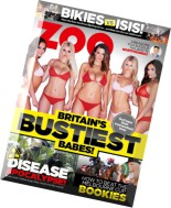 Zoo Weekly Australia Magazine Issue 450, 2014