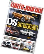 l'Auto Journal N 921 - 27 Novembre au 10 Decembre 2014