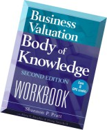 Business Valuation Body of Knowledge Workbook by Shannon P. Pratt