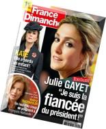 France Dimanche N 3561 - 28 Novembre au 4 Decembre 2014