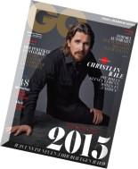 GQ Maennermagazin Januar N 01, 2015