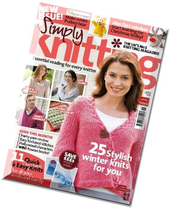 Simply Knitting Magazine : Download simply knitting  pdf magazine