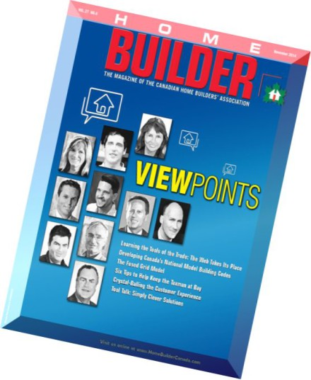 Download home builder magazine canada november 2014 for Home building magazines