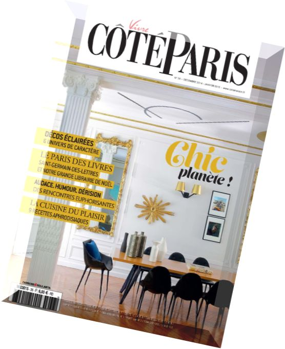 Download vivre cote paris n 36 decembre 2014 janvier for Decoration 31 decembre