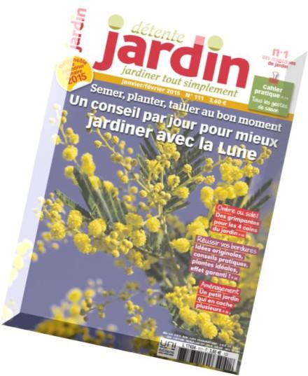 Download detente jardin n 111 janvier fevrier 2015 pdf for Jardin fevrier