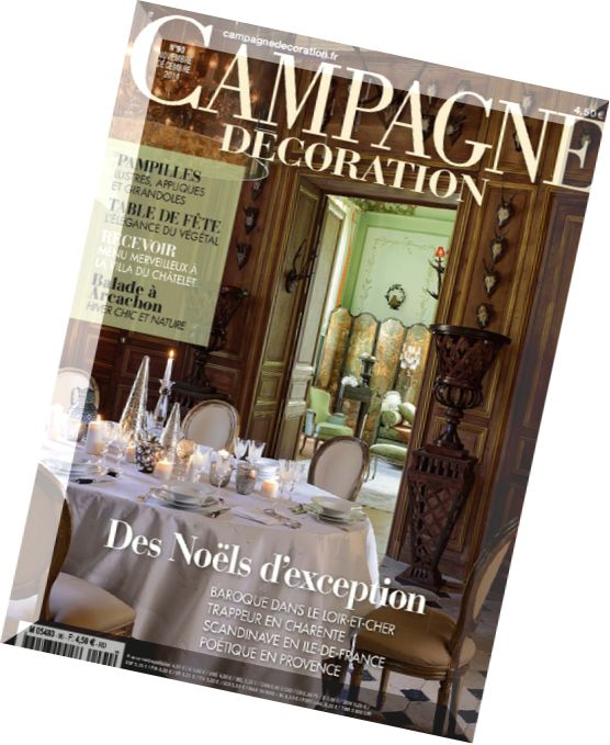 Download campagne decoration n 90 novembre decembre 2014 for Decoration 31 decembre