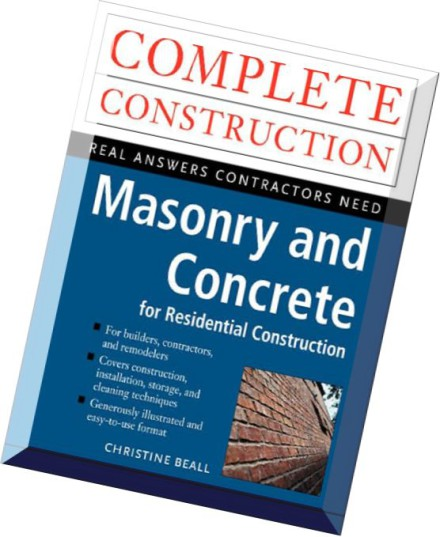 Residential Masonry Contractor: Download Masonry And Concrete For Residential Construction