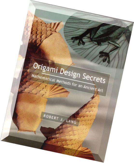 download origami design secrets mathematical methods for