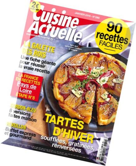 Download cuisine actuelle n 289 janvier 2015 pdf magazine for Cuisine actuelle