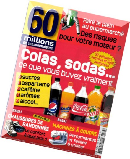 download 60 millions de consommateurs n 473 juillet 2012 pdf magazine. Black Bedroom Furniture Sets. Home Design Ideas