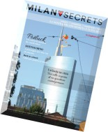 MilanoSecrets Magazine - Issue 1, September 2014