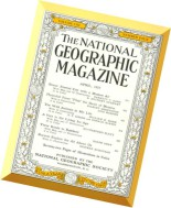 National Geographic Magazine 1957-04, April
