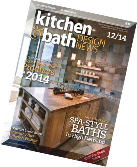 Download Kitchen Bath Design News December 2014 PDF Magazine