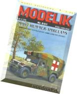Modelik (2001.08) - M997 Hummer-Ambulans