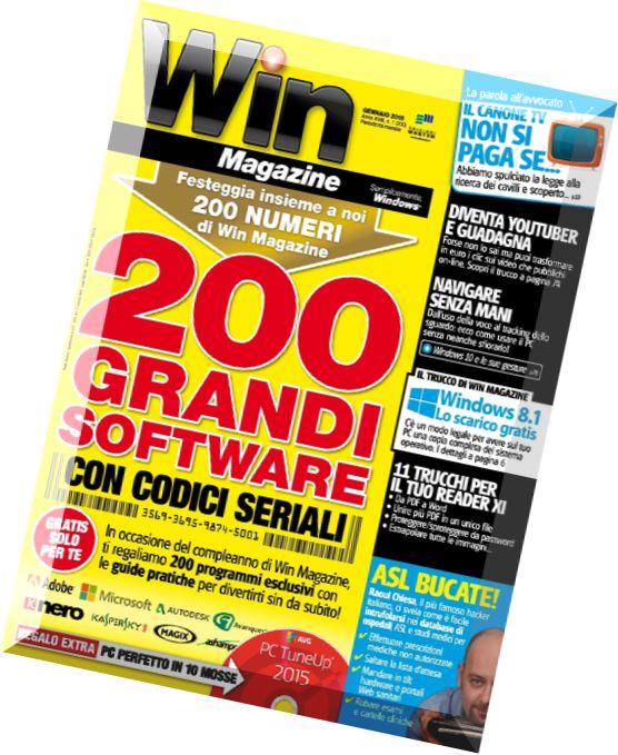 Download Win Magazine N 200  U2013 Gennaio 2015