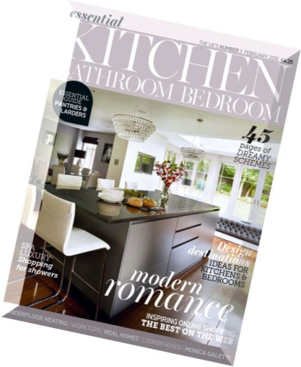 Download essential kitchen bathroom bedroom february 2015 pdf magazine for Essential kitchens and bathrooms