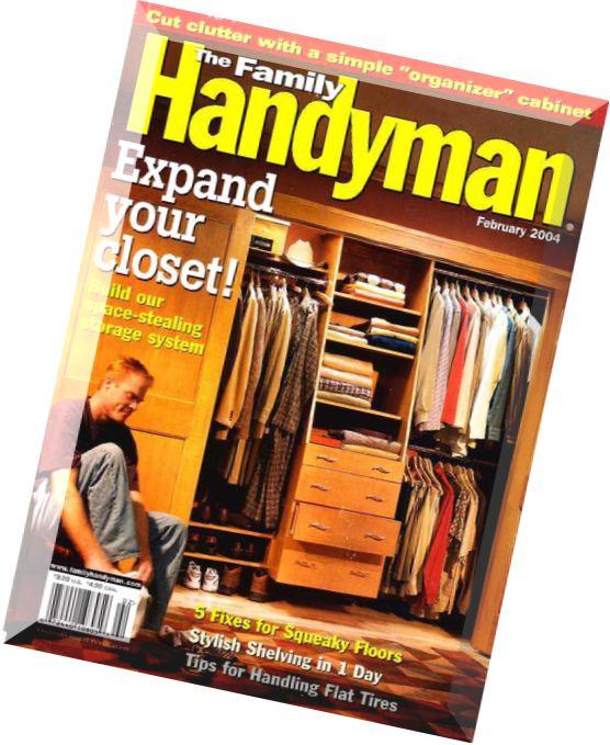 Download the family handyman february 2004 pdf magazine for The family handyman pdf