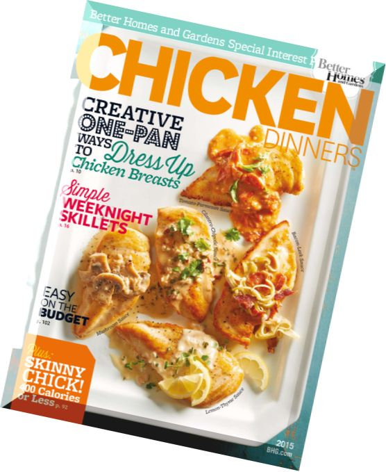 Download Better Homes And Gardens Chicken Dinners 2015