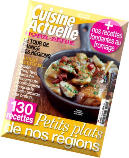download cuisine actuelle hors serie n 114 janvier fevrier 2015 pdf magazine. Black Bedroom Furniture Sets. Home Design Ideas