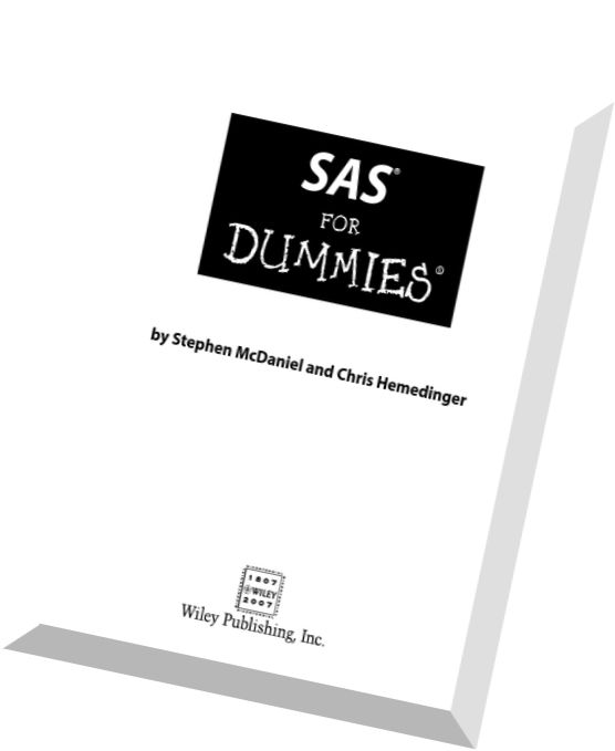download sas for dummies