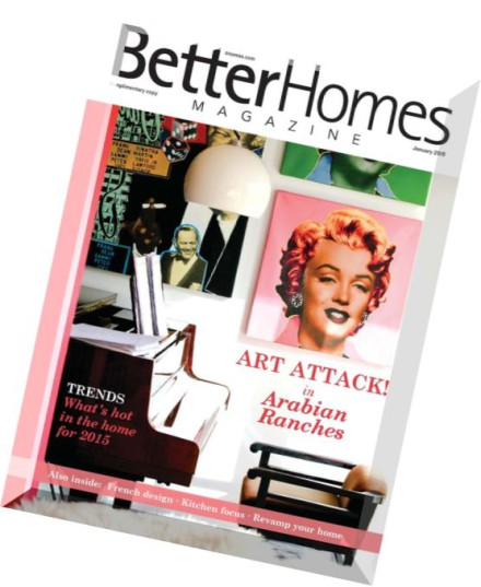 Download Better Homes Dubai January 2015 Pdf Magazine