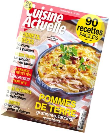 Download cuisine actuelle n 290 fevrier 2015 pdf magazine for Cuisine actuelle