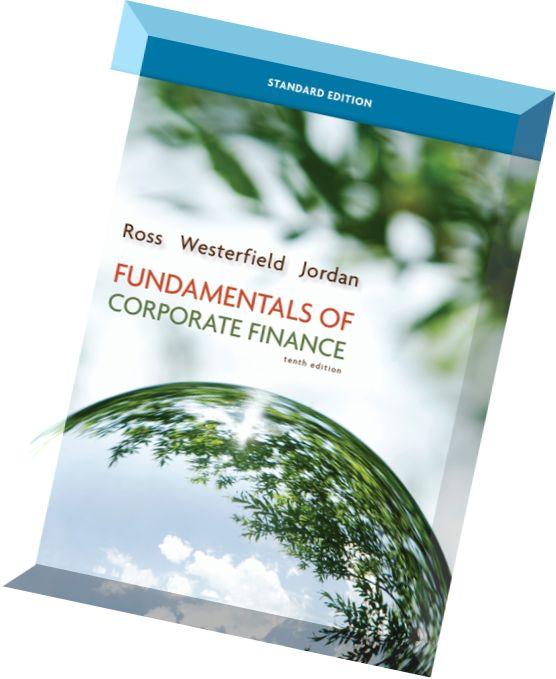 Jaffe 10th pdf edition westerfield ross finance corporate