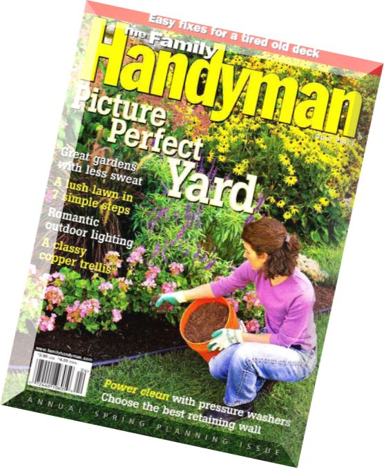 Download the family handyman april 2004 pdf magazine for The family handyman pdf