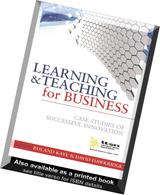 learning and teaching for business case studies of successful innovation