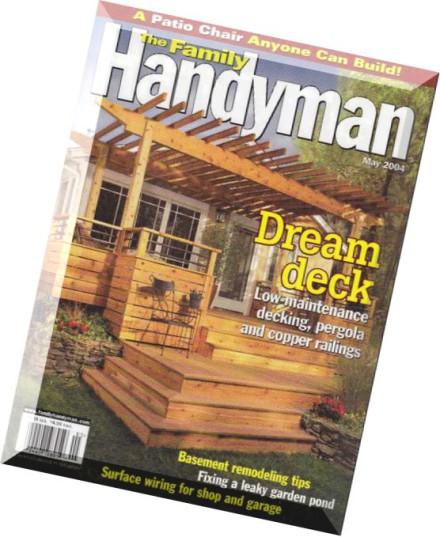 Download the family handyman may 2004 pdf magazine for The family handyman pdf